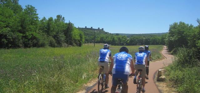 pedalando verso Monteriggioni