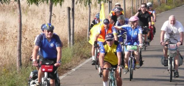 ciclostaffetta organizzata da FIAB Toscana nel 2009